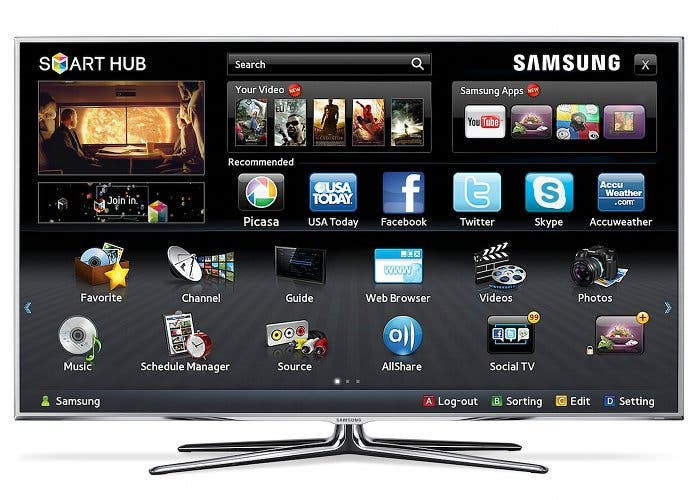 Televisor Smart TV de Samsung