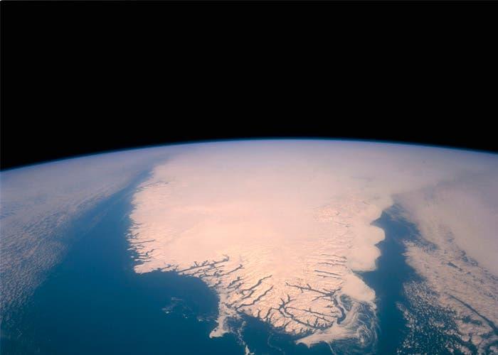 Espectacular la vista de Groenlandia