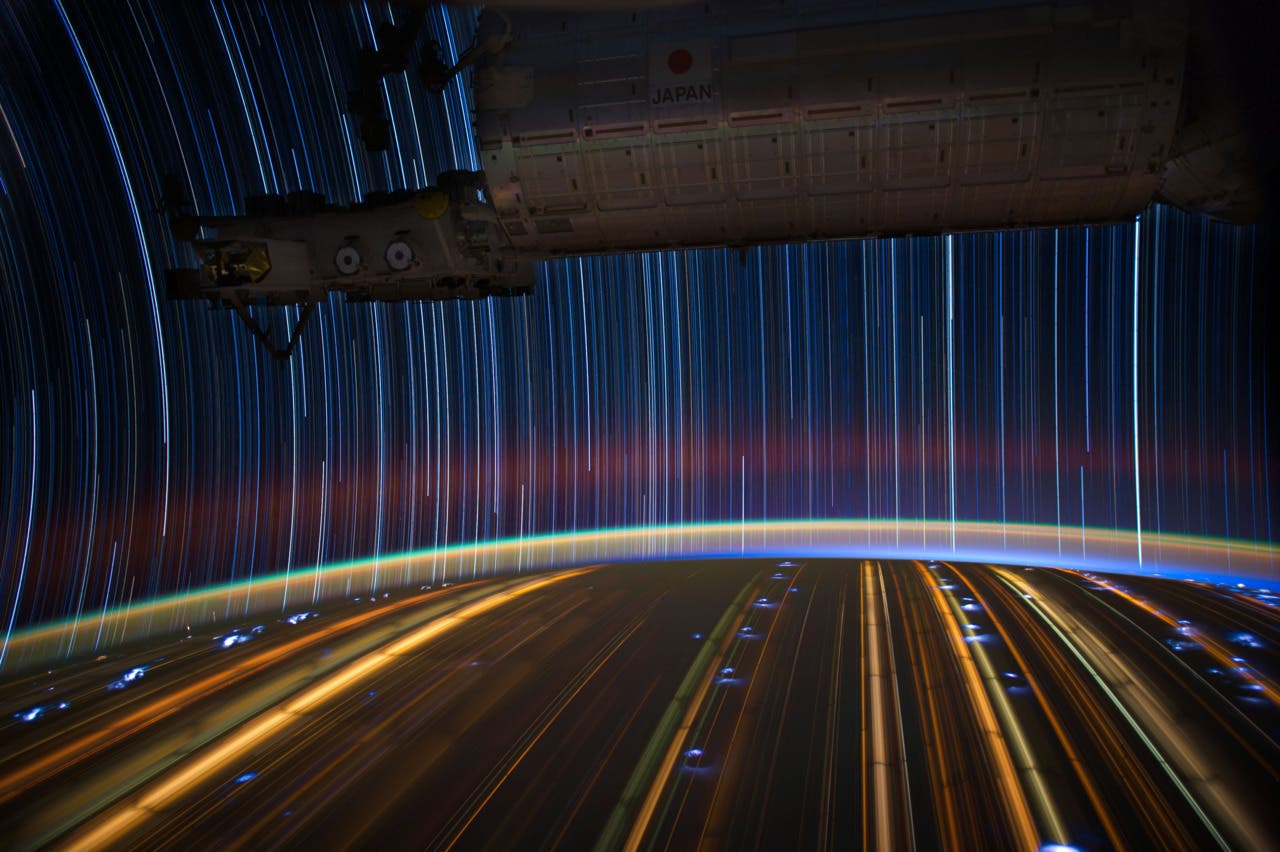 Fotograma sacado del time lapse This is our Planet de la NASA