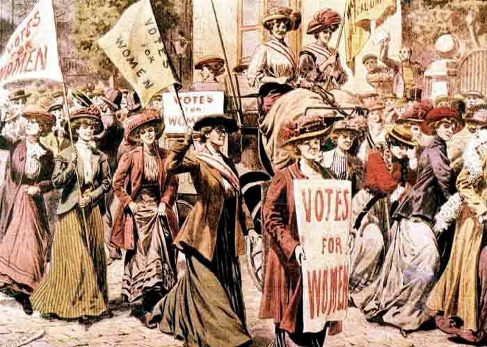 El derecho al voto para las mujeres