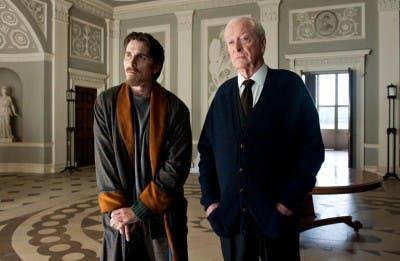 Christian Bale y Michael Cane