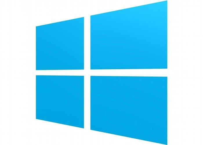 Logo del sistema operativo Windows 8 de Microsoft