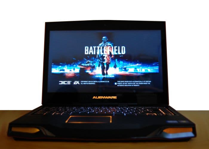 Alienware M14x corriendo Battlefield 3