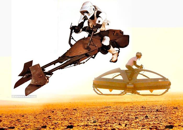 Vehículos volares real y de ficción