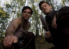 Brad Pitt y Eli Roth