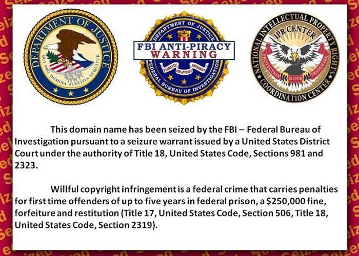 FBI cierra páginas relacionadas con la piratería en Android