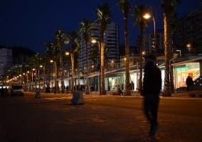 Toma realizada en el puerto de Málaga