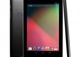 Imagen del tablet Nexus 7 de ASUS y Google