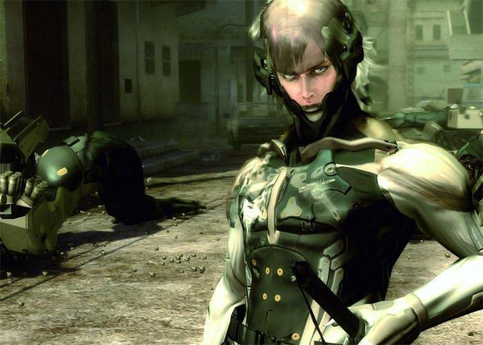 Fotografía del personaje Raiden de Metal Gear Solid 4