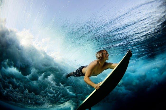 Lucia Griggi, Underwater Surf