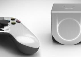 Imagen de la videoconsola OUYA y su controlador