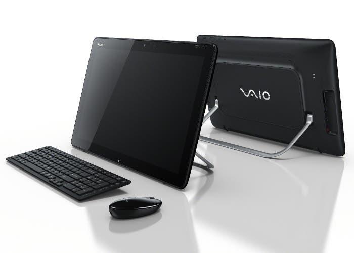 Fotografía de dos Sony VAIO Tap 20