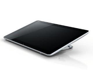 Imagen de un Sony VAIO Tap 20 en posición horizontal