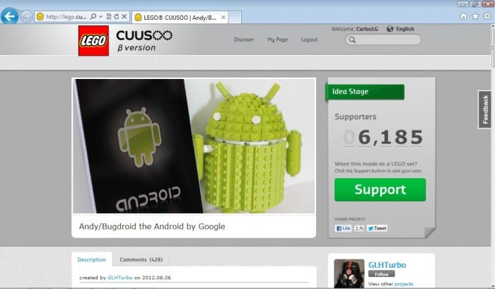 Android CUUSOO