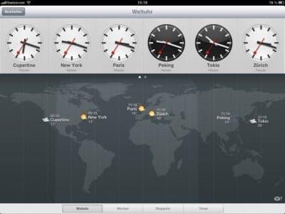Aplicación iPad