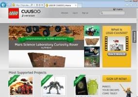 Captura de la web de CUUSOO