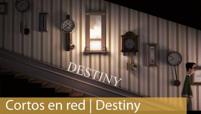Cabecera cortometraje Destiny
