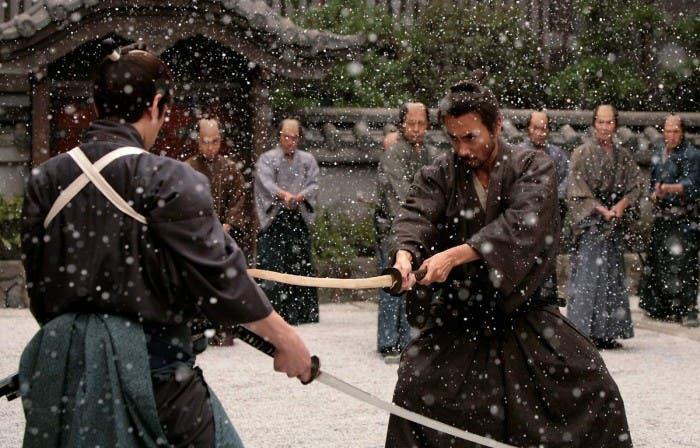Hara-Kiri: Death of a samurai, Ebizo Ichikawa en combate