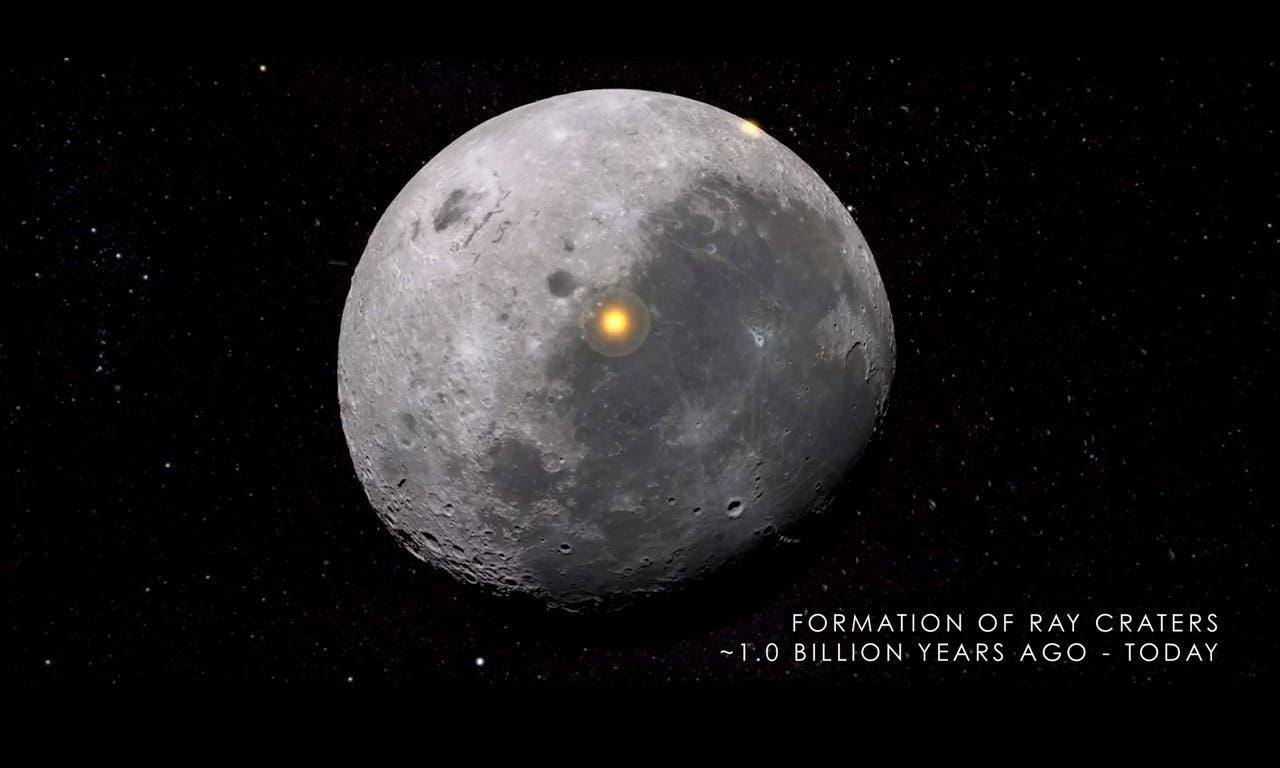 C mo se cre y evolucion la luna hasta llegar a ser el for Que dia lunar es hoy
