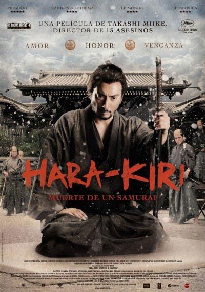Cartel de Hara-Kiri: Death of a Samurai