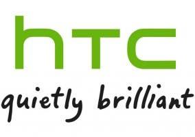 Logo del fabricante de smartphones HTC