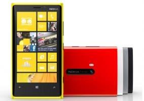 Fotografía del smartphone Nokia Lumia 920