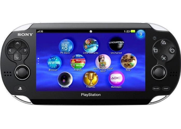 La videoconsola portátil PS Vita de Sony
