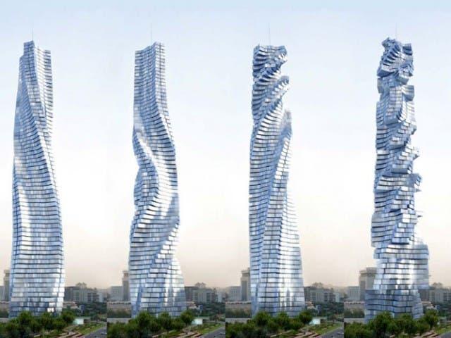 Arquitectura sorprendente edificios que se mueven for Arquitectura que se estudia