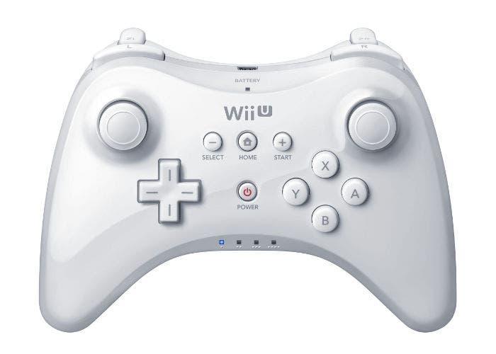 Imagen frontal del Wii U Pro Controller