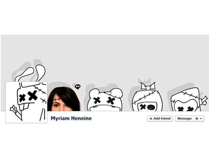 Portada de facebook de Myriam Heneine