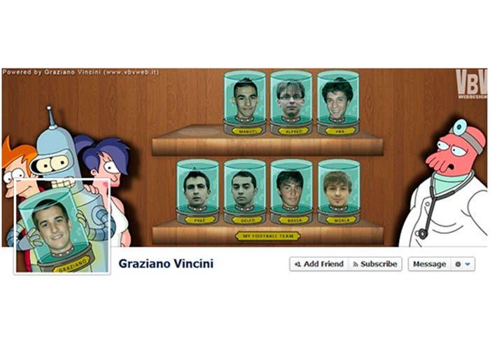 Portada de favebook de Graziano Vincini