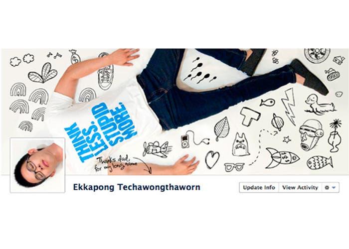 Otra portada de facebook de Ekkapong Techawongthaworn