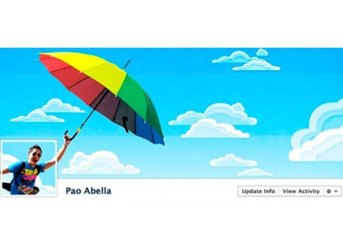 Portada de facebook de Pao Abella