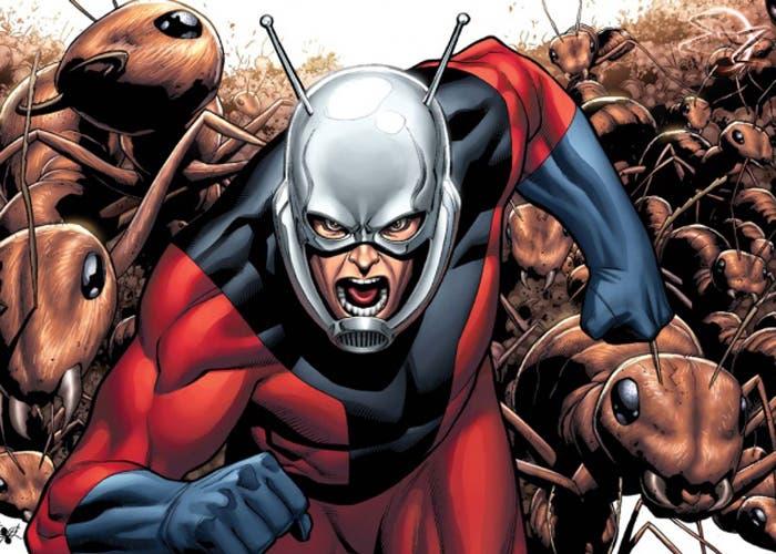 Superhéroe Ant-Man creado por la Marvel
