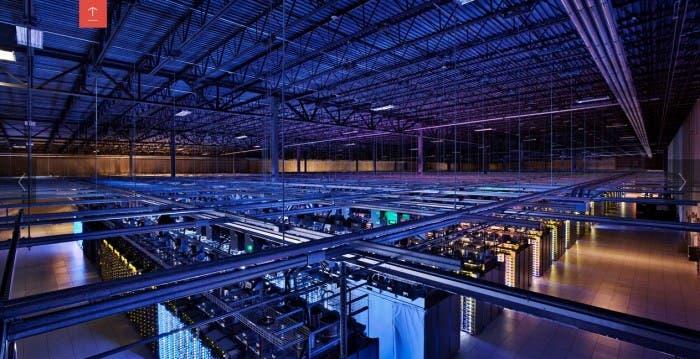 Centro de Datos de Google en Iowa