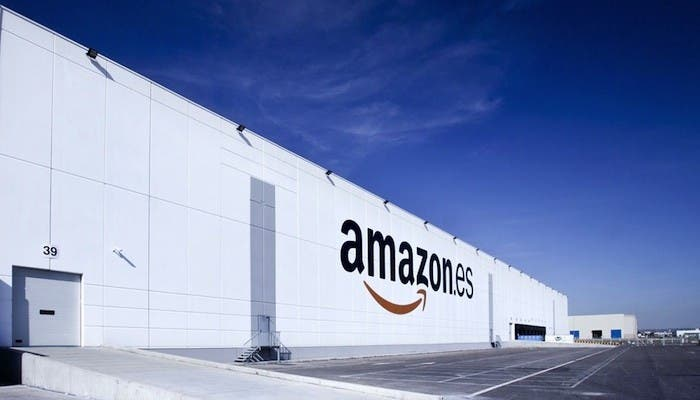 El nuevo centro de logística de Amazon en Madrid