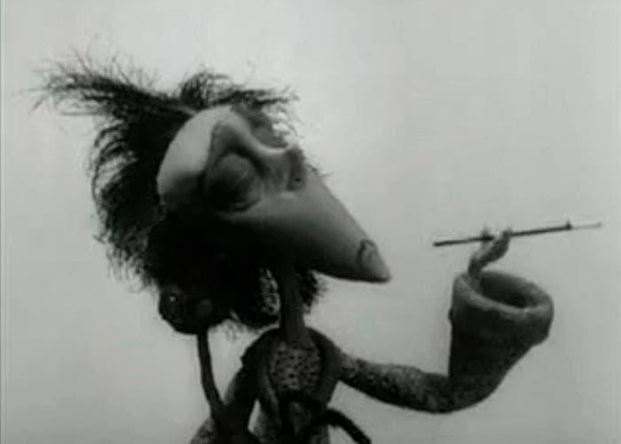 Fotograma del corto Vincent de Tim Burton