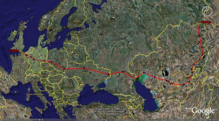 European Route E40