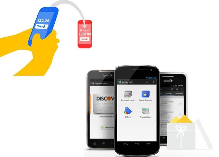 Google Wallet en el móvil