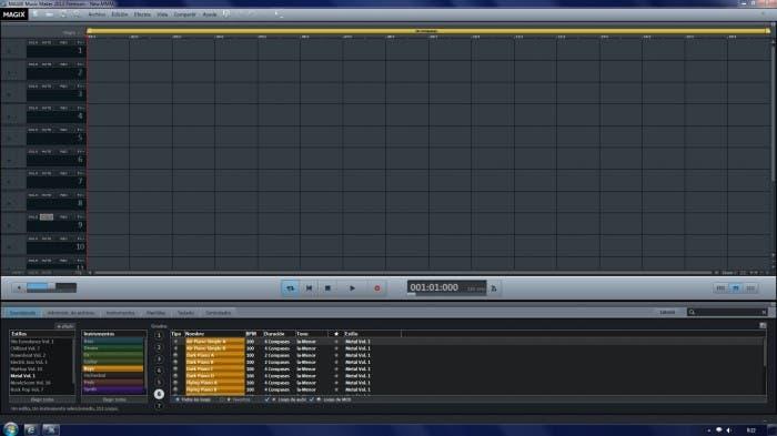 Captura de MAGIX Music Maker