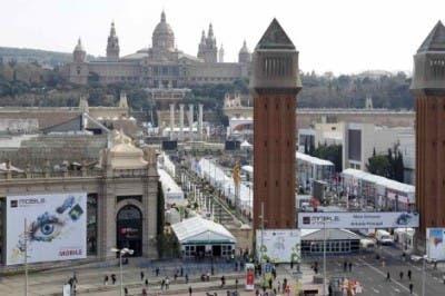 Foto de las instalaciones del Mobile World Congress 2012