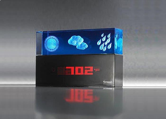 Reloj de Oregon Scientific con tiempo 3D