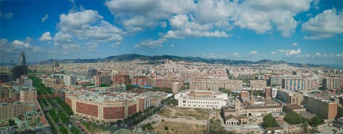 Panorámica de Barcelona desde hotel Me Barcelona