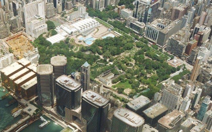 Enclave donde antaño se encontraba la Antigua Ciudad Amurallada de Kowloon