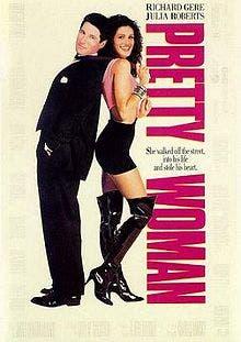 Julia Roberts y Richard Gere protagonizan Pretty woman