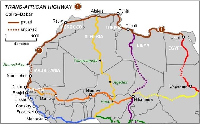 Carretera Transafricana TAH1