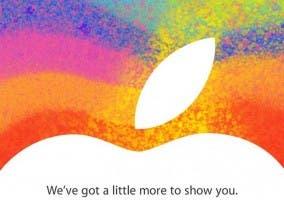 Invitación al evento del 23 de octubre de Apple