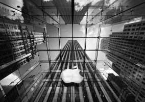 Manzana de Apple en Edificio