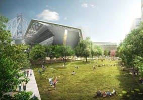 Diseño para el campus de Cornell Tech