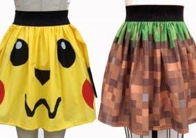 Faldas de Ashley Mertz inspiradas en videojuegos